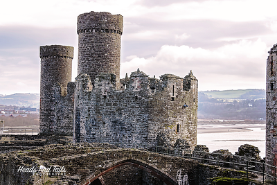 Conwy Castle, United Kingdom, UK
