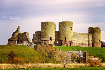 Rhuddlan Castle, Wales, United Kingdom