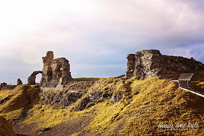 Castell Dinas Bran, Wales, United Kingdom