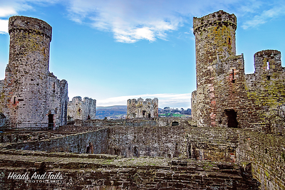 3 Conwy Castle, Wales, United Kingdom