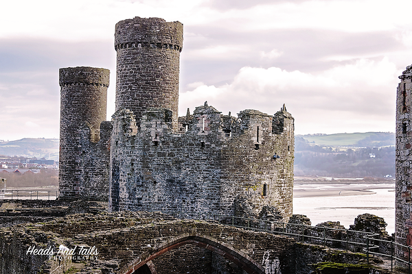 5 Conwy Castle, United Kingdom, UK
