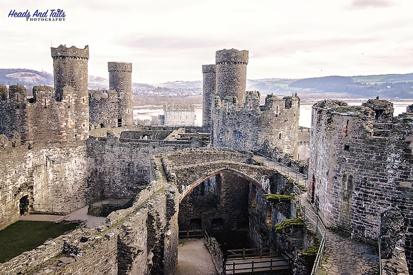 4 Conwy Castle, Wales, United Kingdom