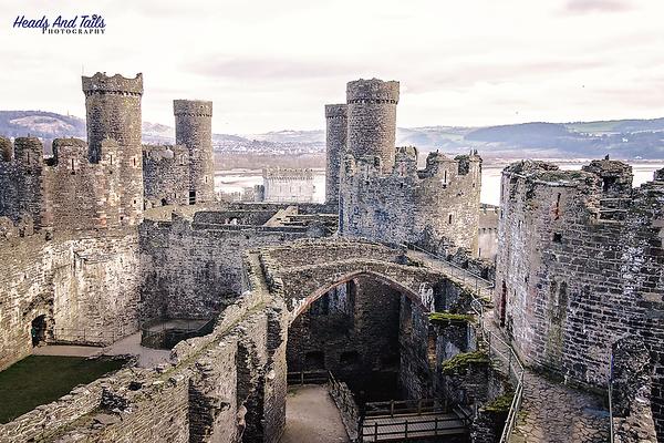 4 Conwy Castle, Wales, United Kingdom
