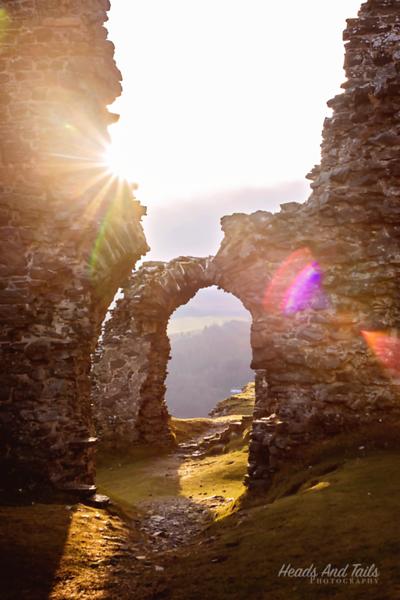 1 Castell Dinas Bran, Wales, United Kingdom, Castles