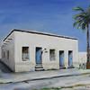 Barrio, 20x24, Acrylic