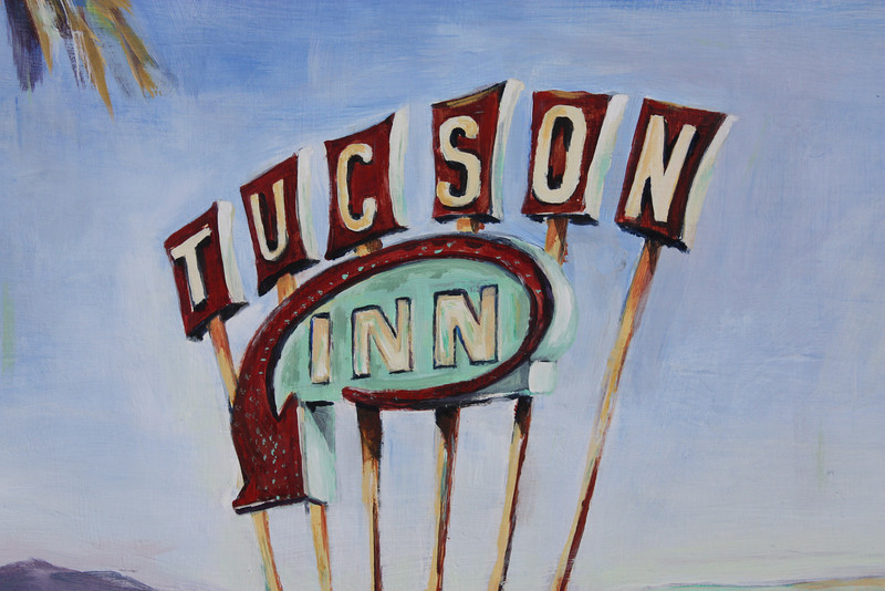 Tucson Inn Detail