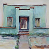 Mint House 11x14 Acrylic on Canvas *sold*