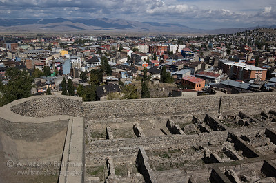 View of Erzurum looking north from the Citadel.