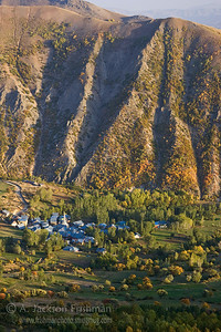 Village near Bayburt, northeastern Turkey.