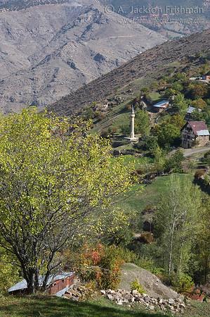 Village of Old Gümüşhane, northeastern Turkey.