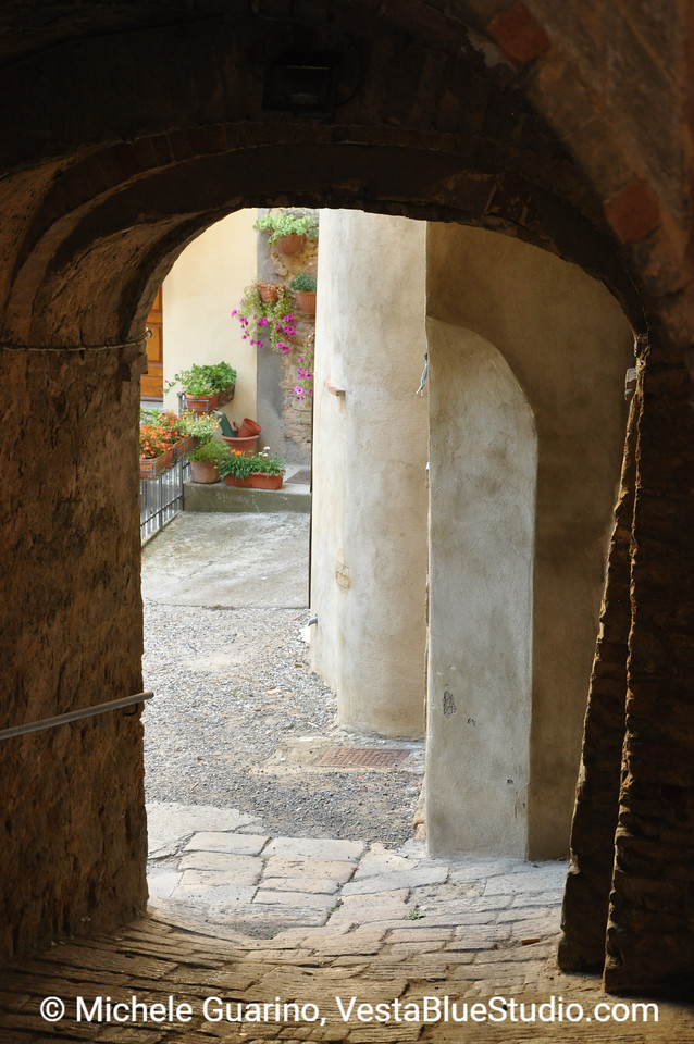 Volterra Arched Walkway
