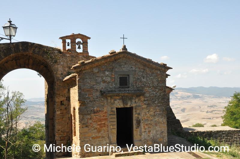 Corner Church in Volterra