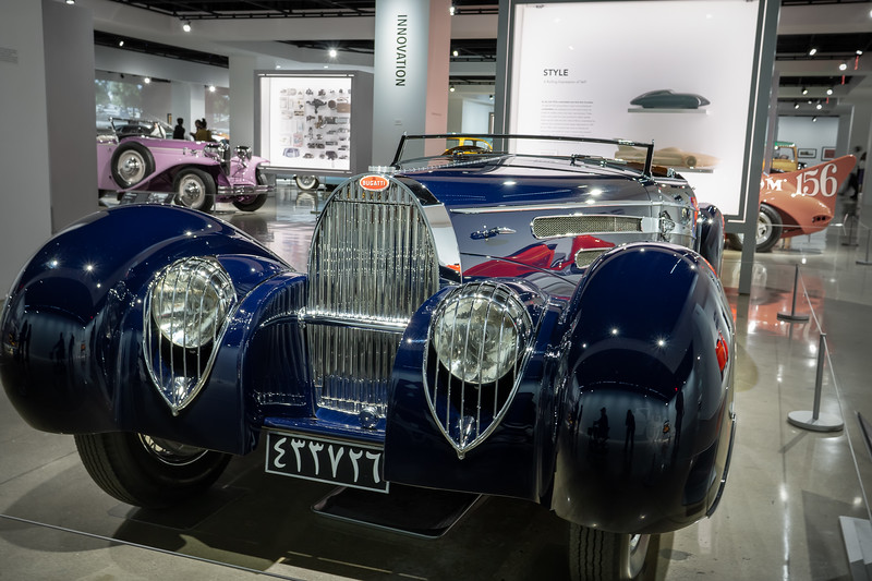 1939 Bugatti at the Petersen Automotive Museum