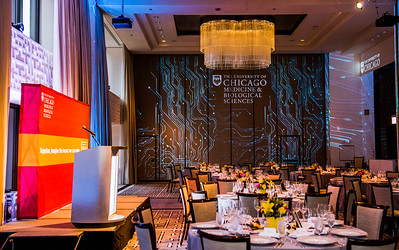 Guests meet Thursday, May 14, 2015 at the Langham Hotel in Chicago for the 2015 Discovery & Impact Event. (photo by Jean Lachat)