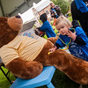 Falilies, children and runners enjoy activities Sunday, October 4, 2015 during the Comer Children's Hospital RBC Race for the Kids 2015. (photo by Jean Lachat)