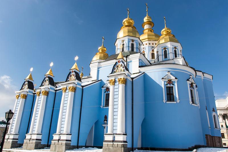 KIEV. ST. MICHAEL'S MONASTERY.