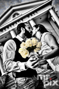 The Kiss - Wedding Photography By Michael Moore