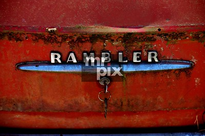 Old Rambler, seen better days. Photo by Michael Moore   MrPix.com