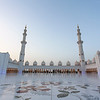 ABU DHABI. SHEIKH ZAYED GRAND MOSQUE.
