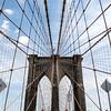 NEW YORK CITY. MANHATTAN. BROOKLYN BRIDGE.