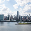 NEW YORK CITY. LONG ISLAND CITY. VIEW AT MANHATTAN.