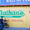 NEW YORK CITY. CONEY ISLAND. NATHAN'S.