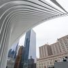 NEW YORK CITY. MANHATTAN. THE OCULUS METRO STATION.