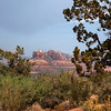 SEDONA. ARIZONA. USA. UPCOMING THUNDER STORM AT CATHEDRAL ROCK. [2]
