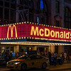 NEW YORK CITY. MANHATTAN. BROADWAY. MC. DONALD'S.