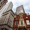 Exterior of the Old State House in Boston, Massachusetts, USA