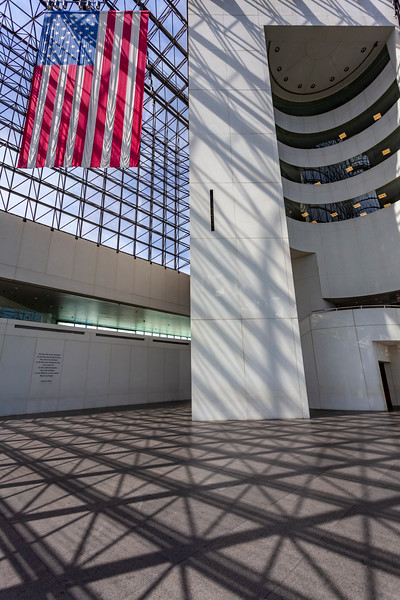 JFK Library in Boston, Massachusetts, USA