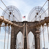 NEW YORK CITY. MANHATTAN. BROOKLYN BRIDGE.