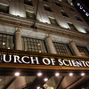 NEW YORK CITY. MANHATTAN. FACADE OF THE CHURCH OF SCIENTOLOGY.