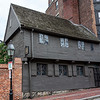 Paul Revere House - along the Boston Freedom Trail is the City's Oldest Wooden House, Boston, Massachusetts, USA