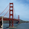 Golden Gate Bridge - San Francisco USA. View at Sausolito.