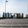 NEW YORK CITY. MANHATTAN. UNITED NATIONS HEADQUARTERS.