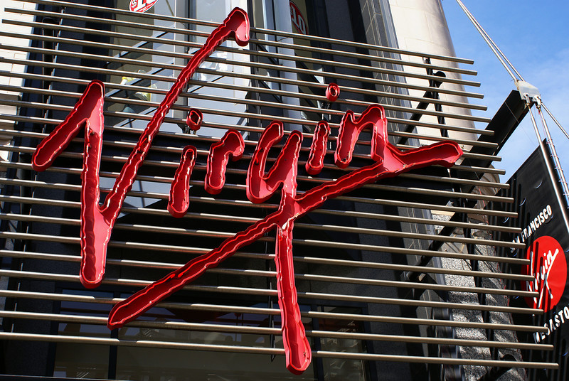 VIRGIN MEGASTORE. DOWN TOWN. SAN FRANCISCO. CALIFORNIA.