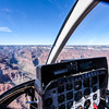 GRAND CANYON. HELICOPTER FLIGHT WITH PAPILLON. ARIZONA. USA.