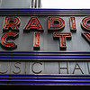 NEW YORK CITY. MANHATTAN. FACADE RADIO CITY HALL.