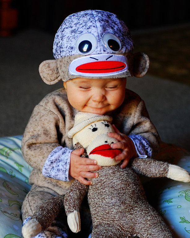 Nathan and Sock Monkey- Who's Happy Now? NOLA