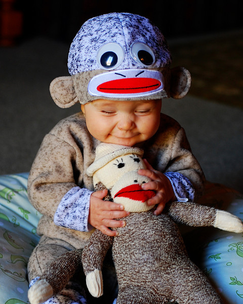 Nathan and Sock Monkey- Who's Happy Now?<br /> NOLA