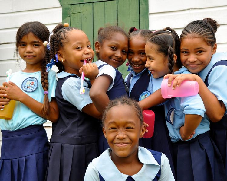 Belize Schoolgirls