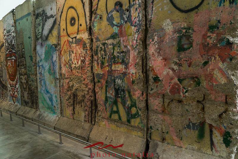 West Side Berlin Wall, @ Newseum, DC, 10/2015