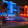 Art Deco Architecture on Ocean Drive, Miami