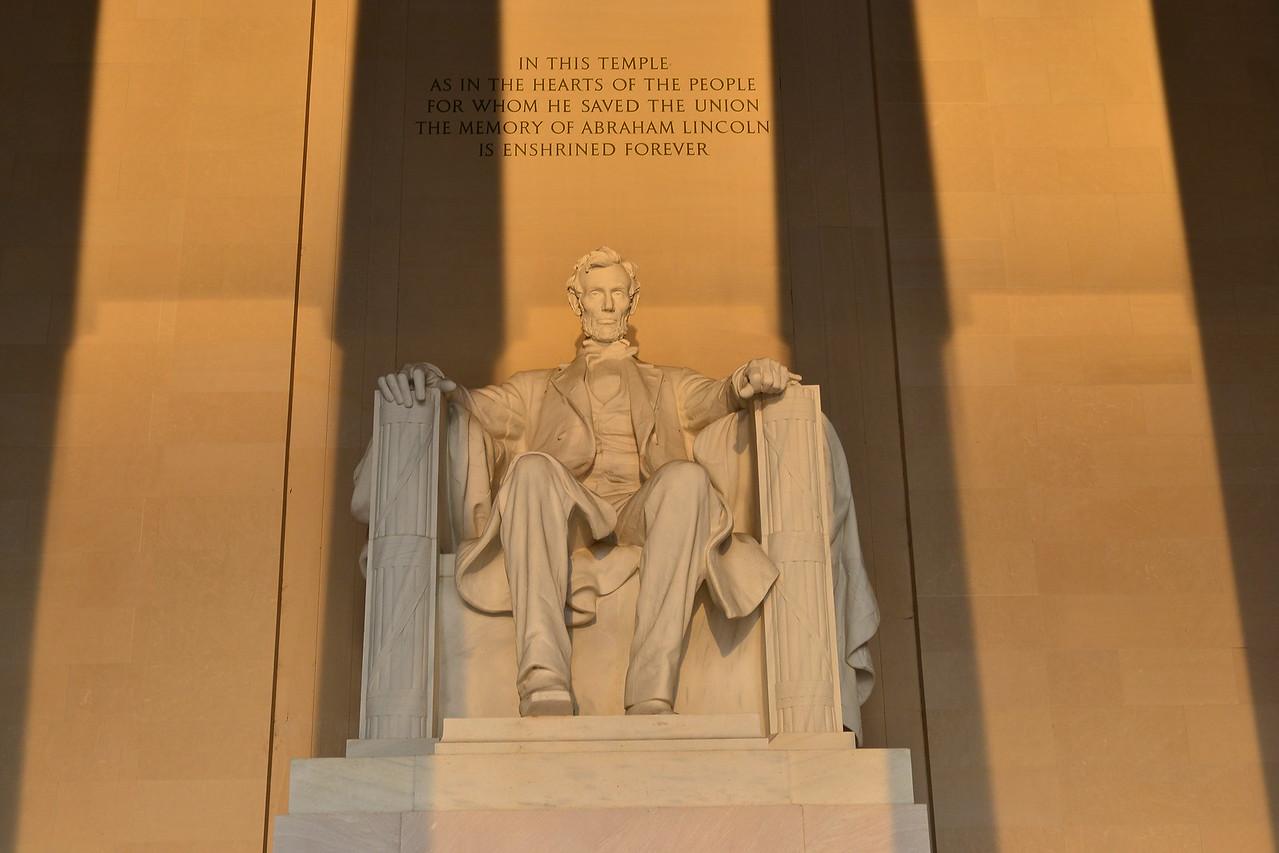 The Lincoln Memorial, Washington DC, United States