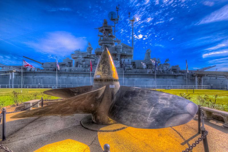 USS Alabama BB-60 Screw