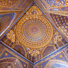 SAMARKAND. REGISTAN. INTERIOR OF THE MOSQUE INSIDE THE TILLA-KARI (GOLD COVERED) MEDRESSA. [10]