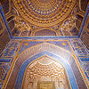 SAMARKAND. REGISTAN. INTERIOR OF THE MOSQUE INSIDE THE TILLA-KARI (GOLD COVERED) MEDRESSA. [7]