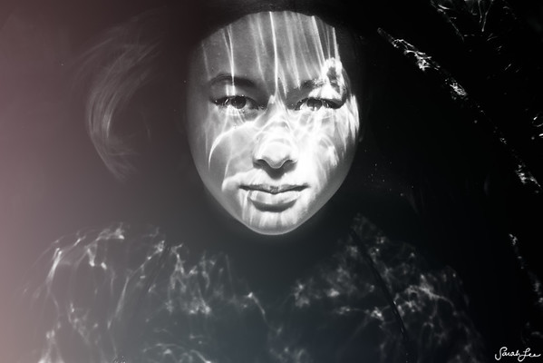 Underwater portrait of Tien.
