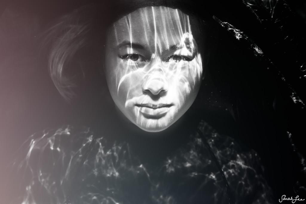 Underwater portrait of Tien.